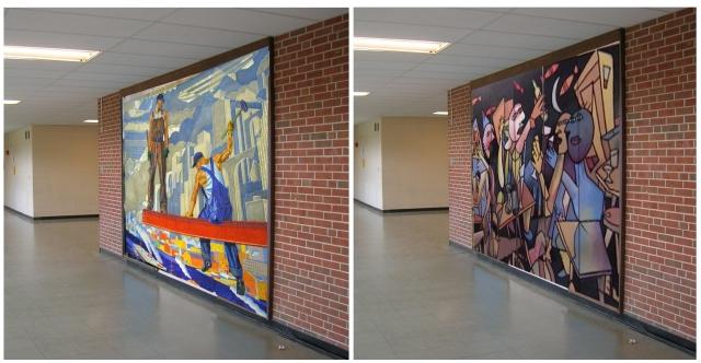hall mural ideas